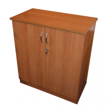 MAHOGANY MEDIUM LEVEL CABINET