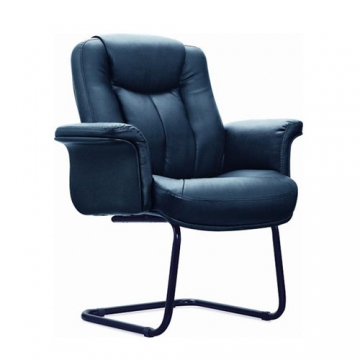 EXECUTIVE LEATHER OFFICE CANTILEVER CHAIR
