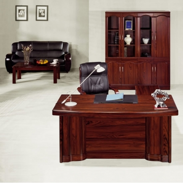 5 piece executive suite, leather SOFA + Coffee Table VD-ES006