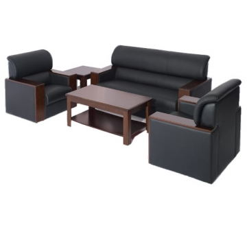 5 Seater Office Sofa + Coffee Table VD-LR76