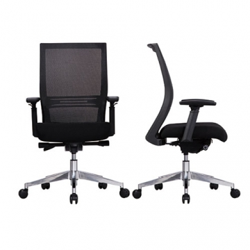 CHROME MESH OFFICE CHAIR