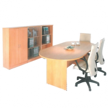 Conference Workstation + Storage Cabinets VD-WS202