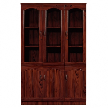Mahogany Wall Unit Glass VD-WU29